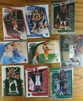 Panini Threads 2018-19 Lot of 9 Cards Luka Doncic Rookie, Giannis, Kawhi, Harden