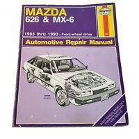 Haynes Mazda 626 MX-6 Automotive Repair Service Manual 1082 Shop 1983-1990