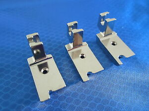 """SINGLE CORD WELTING PIPING FOOT 1/4"""" 1/8"""" 3/16"""" FOR SINGER LOW SHANK MACHINES"""