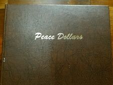Used Dansco Peace Dollars 1921-1935S Coin Album # 7175, No Coins