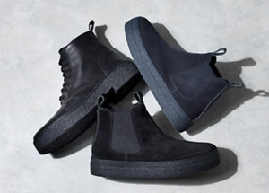 Russell & Bromley 'NEW' Bumble Platform Chelsea Boots Black Suede 36 UK 3
