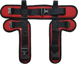 Harness for bungee trampoline