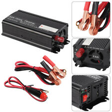 1500W/3000W Power Car Converter power inverter DC 12V to AC 220- 240V UK STOCK
