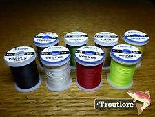 8 x SPOOLS 6/0 VEEVUS THREAD - NEW FLY TYING SUPPLIES & MATERIALS