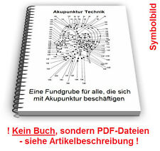 Akupunktur Technik - Elektroakupunktur Nadeln Geräte Patente Patentschriften
