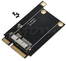 PCI-E Mini 52 broches PCI Express carte adaptateur pour Apple Mac BCM94360CD BCM94331CM