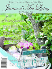 Jeanne d'Arc Living Magazine July 2017 Antiques & Interiors French Nordic Style