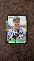 1987 Donruss Lance Parrish #91 - Detroit Tigers - Autographed!