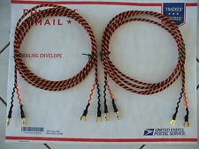 Belden 9497 8ft Speaker Cables  Spades~Banana Western Electric Favorite In Japan
