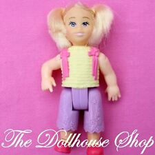Fisher Price Loving Family Dollhouse Blonde Toddler Little Girl Doll