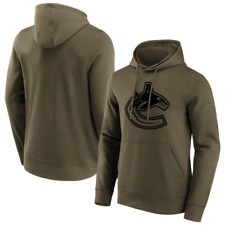 Vancouver Canucks Hoodie Men's (Size M) NHL Iconic Logo graphic Hoodie - New