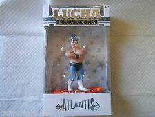 LUCHA Legends ATLANTIS CMLL De Lucha Libre 5.5 inch Figure Wrestling Wrestler 4U