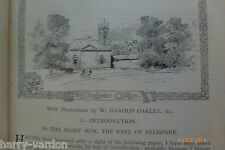 Winchester College Antique Oakley illustrated Victorian Article 1890 Wykehamist