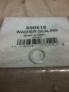New Genuine Briggs & Stratton Sealing Washer 690618