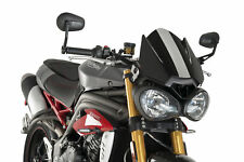PUIG Windscreen for Triumph Speed Triple-2016-black