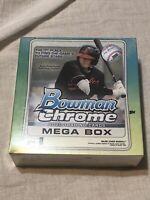 BRAND NEW TOPPS 2020 Bowman Chrome Mega Box RETAIL - Sealed NEW Baseball
