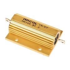 1 x Arcol Aluminium Wire Wound Resistor HS100 R1 J, 100mΩ ±5% 100W