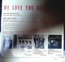 RARE FRENCH EP - WE LOVE YOU BEATLES - CBS EP 5649 - ONLY COVER !