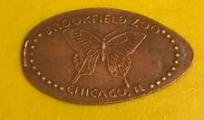 Brookfield Zoo Butterfly Pressed Elongated Penny Retired