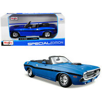 Maisto 1970 Dodge Challenger RT Special Edition 1:24 Scale Die Cast Car NEW
