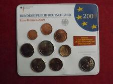 """*Deutschland  Euro KMS st 2009 """" J """" in Blister  mit  2 x 2€ Gedenkmünze *"""