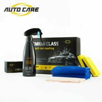 9H 230ml Liquid Nano Ceramic Car Glass Coating Hydrophobic Paint Care Wax Kit