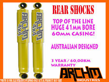 MAZDA BT-50 11/2011-ON 4WD REAR 41mm BORE FOAM CELL ARCHM4x4 SHOCK ABSORBERS