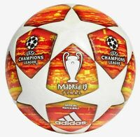 NEW ADIDAS UEFA CHAMPIONS LEAGUE 2019 MADRID FINAL OFFICIAL SOCCER MATCH BALL