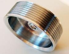 Riemenscheibe bis 8PK - hochfestes Aluminium  Ø 95 - Pulley für Rotrex Lader