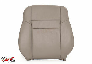2003-2007 Honda Accord 4DR EX SE LX-Driver Side Lean Back Leather Seat Cover Tan