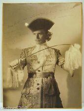PHOTOGRAPHIE ANCIENNE acteur Pierre BLANCHAR chevalier LAGARDERE dédicacée