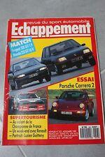 ECHAPPEMENT N°253 PORSCHE 911 TYPE 964 PEUGEOT 205 GTI 1.9 MAZDA 323 GT 16S 1989