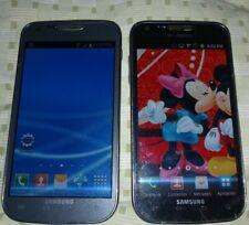 2 lot Samsung Galaxy S II SGH-T989 T-Mobile, unlocked, overseas AS IS