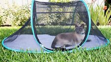 The Cat House Outdoor Pet Enclosure Portable Playpen & Pouch Nala and Company