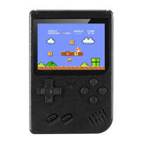 Handheld Game Console Built-in 400 Classic Games Mini TV Game Box Retro black