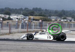 RACING Original 35mm Slide F1 Alan Jones - Surtees TS19 1976 France Formula 1