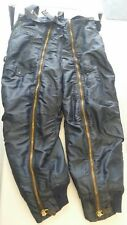 Vintage  RARE BLUE Korean war Air Force Flight Suit Trousers High Altitude