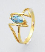 Unbranded Topaz Sterling Silver Fine Rings