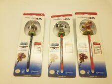 Nintendo 3DS Skylanders Spyros Adventure Bobble Stylus Bobble Pens Lot of 3
