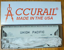 Accurail HO #2101 UP/MoPAC ACF 3-Bay Cvd. Hopper (Kit Form)