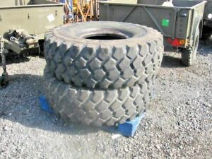 1 USED X MICHELIN XZL 1600 R20  MILITARY TRUCK LORRY TYRE CHOICE OF 6