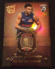 2017 AFL Select Certified Medal Winner JASON JOHANNISEN NORM SMITH Card MW3