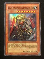Yugioh Beast Machine King Barbaros Ur Anpr-en097 Super Rare M/NM