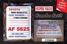 Combo set AF5625 C35644 For 06-15 TOYOTA TACOMA 4 CYL Engine & Cabin Air Filter