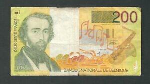 Belgium - 200 Francs  1995