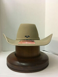 Wrangler® 6X Woodland Ranch Tan Felt Hat With Free Hat Brush