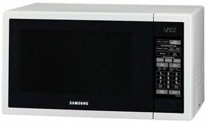 Samsung 34L 1000W Sensor Microwave Oven ME6124W White Ceramic Interior