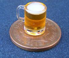 1:12 Scala Birra in un bicchiere Dolls House Pub Bar Bevanda Tazza Accessorio GLA37bC