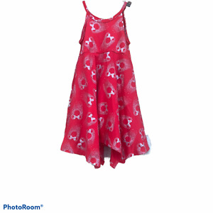 Disney Mickey Mouse red sleeveless dress 18 months