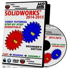 SOLIDWORKS 2014-2015 Step By Step Essentials Video Tutorial in HD
